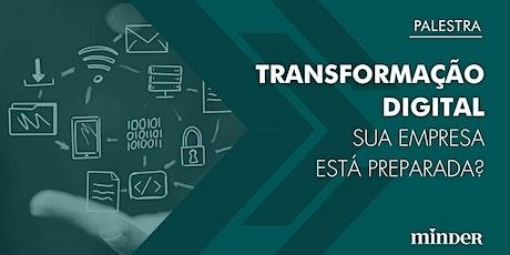Palestra - Transformação Digital ingressos