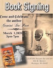 Gemini DaPoet Book Signing  tickets