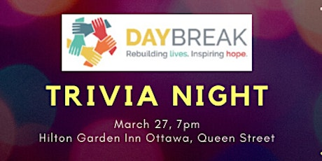 Trivia Night for Daybreak Non-Profit Housing tickets