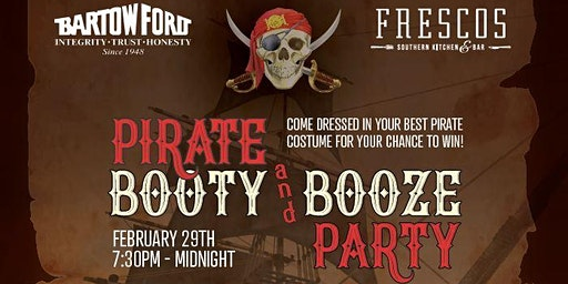 Pirate's Booty & Booze Party for Achievement Academy