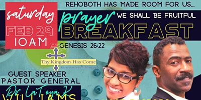 Rehoboth Prayer Breakfast