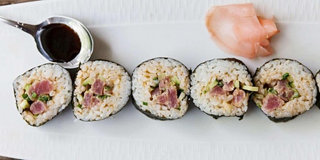 Roll Sushi Like a Pro - Cooking Class by Cozymeal™ tickets