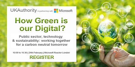 UKAuthority: How Green is our Digital? tickets