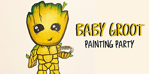Baby Groot Painting Party