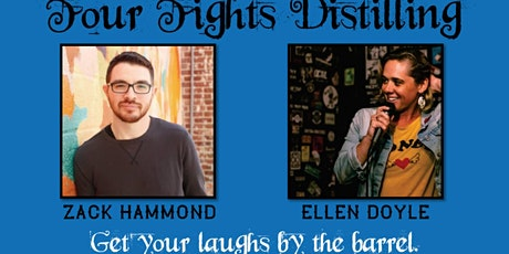 Homebrewed Comedy at Four Fights Distilling tickets