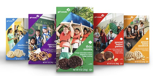 Girl Scout Cookies & Cocoa