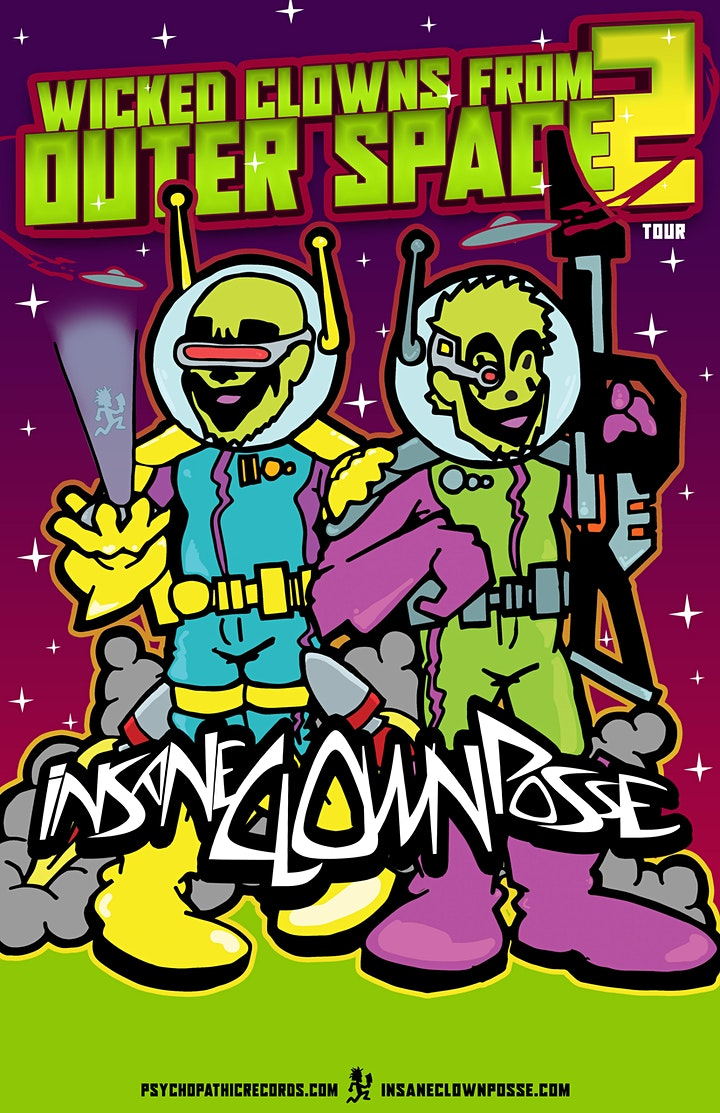 Insane Clown Posse- NEW DATE image
