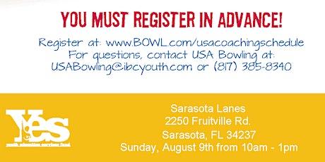CANCELED - FREE USA Bowling Coach Certification Seminar - Sarasota Lanes, Sarasota, FL tickets