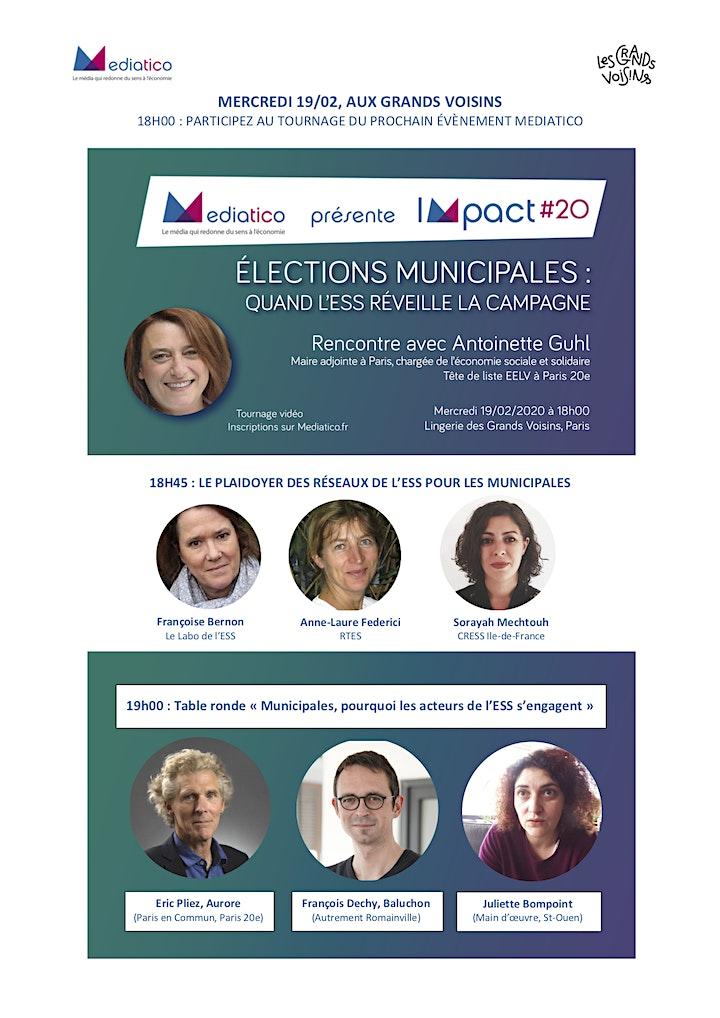 Image pour IMPACT#20 : Élections municipales : quand l'ESS réveille la campagne