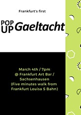 Pop Up Gaeltacht Frankfurt tickets