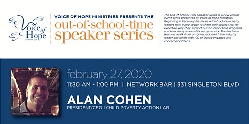 The Out-of-School Time Speaker Series