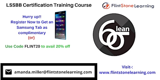 LSSBB Certification Training Course in Applegate, CA