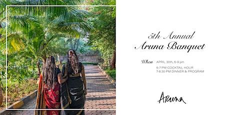 Aruna Fundraising Banquet 2020 tickets