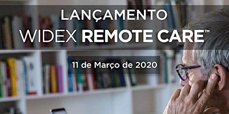 Lançamento Widex Remote Care ingressos