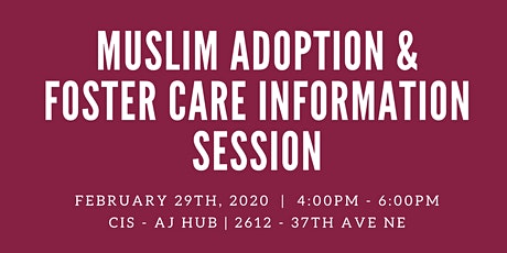 Muslim Adoption & Foster Care Information Session tickets