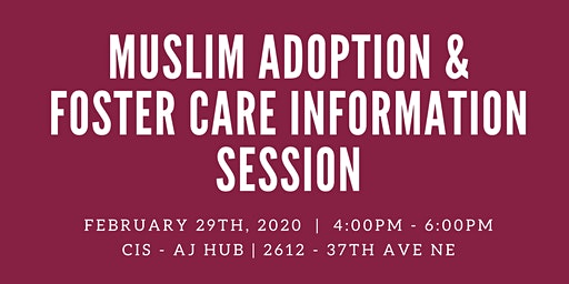Muslim Adoption & Foster Care Information Session