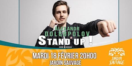 Alexandr Dolgopolov : Stand Up ! billets