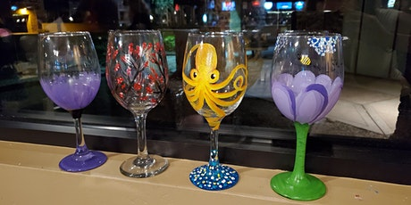 Paint Your Wine Glass at Spokes on Southern tickets