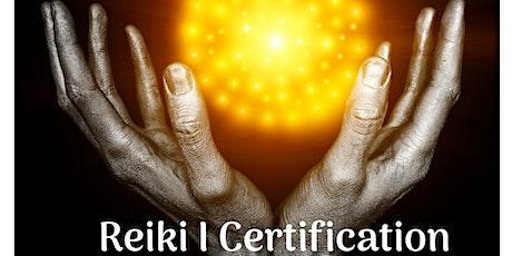 Reiki I Certification tickets
