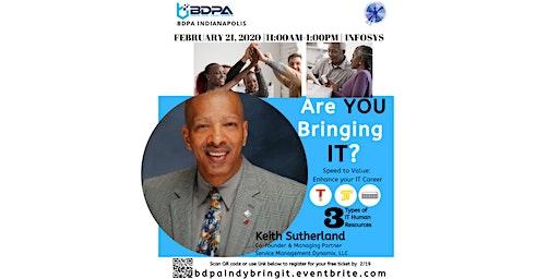BDPA 2020: Program Series - Are YOU Bringing IT?