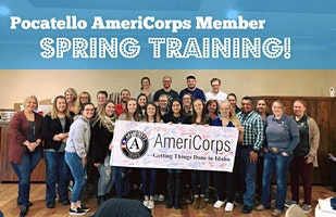 Pocatello AmeriCorps Member Spring Training