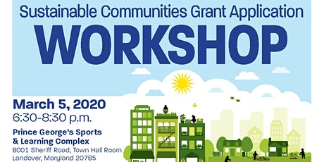 Sustainable Communities Grant Application Workshop tickets