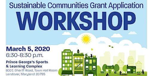 Sustainable Communities Grant Application Workshop
