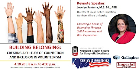4.10.20 NW IL Regional Volunteerism Conference: Building Belonging tickets