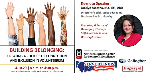 4.10.20 NW IL Regional Volunteerism Conference: Building Belonging