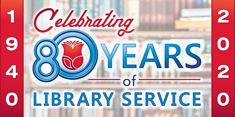 80th Anniversary Library Showcase **Postponed - will be rescheduled** tickets
