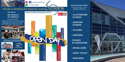 Open Day Accademia Mario Foroni