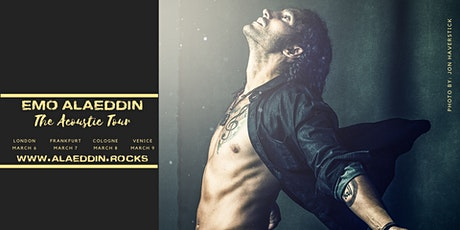 Emo Alaeddin Live in London tickets
