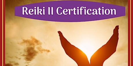 Reiki II Certification Class tickets
