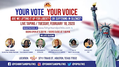 Fish, Grits & Politiks - YOUR VOTE, YOUR VOICE (Season 2 Kickoff Episode) tickets