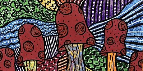 Acrylic Mushroom Painting tickets