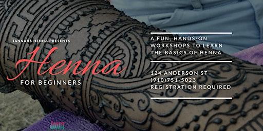 Henna Workshop For Beginners