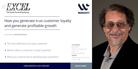 How You Generate True Customer Loyalty and Generate Profitable Growth tickets