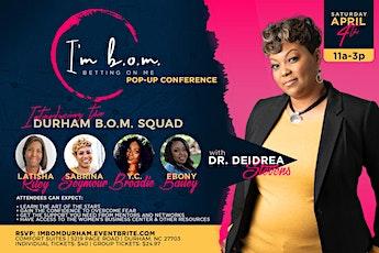 I'm B.O.M (Betting On Me)! tickets