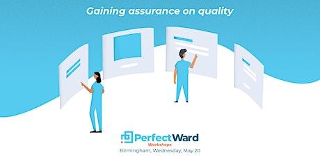 Gaining assurance on quality - Birmingham tickets