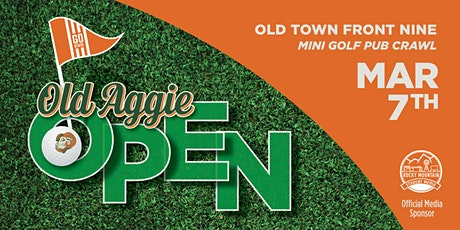 Old Aggie Open tickets