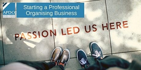 Starting A Professional Organising Business - London, 11 May 2020 tickets