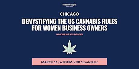 Demystifying New Cannabis + CBD Rules - Chicago tickets