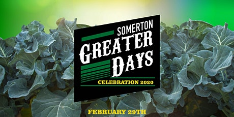 Somerton Greater Days tickets