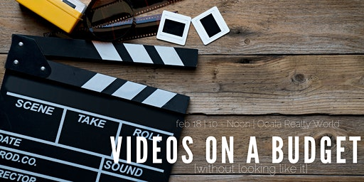 Ocala Realty World - How to Create Videos on a Budget
