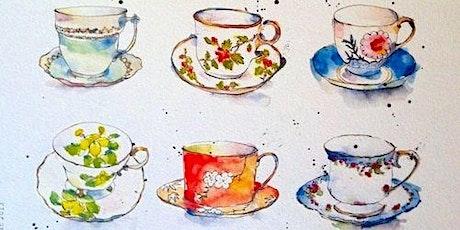 Still-life Watercolour Painting Workshop - Vintage Tea Theme tickets