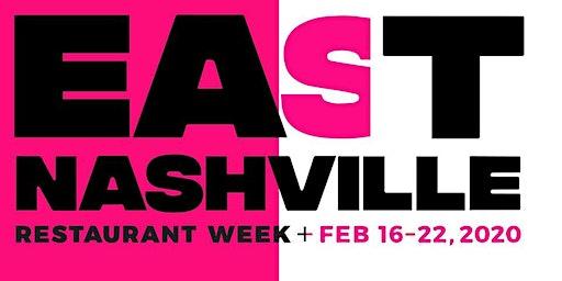East Nashville Restaurant Week: February 16-22, 2020