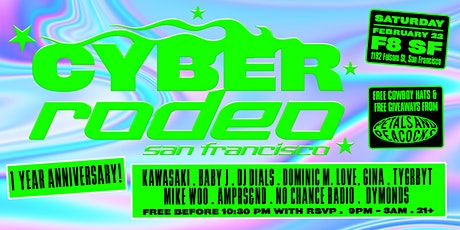 CYBER RODEO 1 YR ANNIVERSARY HOE-DOWN tickets