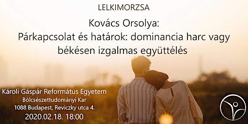 Kovács Orsolya - Párkapcsolat és határok