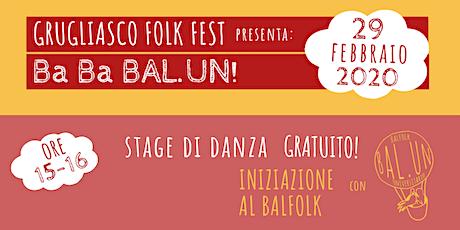 Iniziazione al Balfolk con Bal.Un biglietti