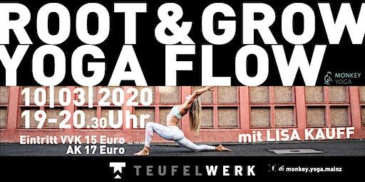 ROOT & GROW  YOGA FLOW  IM TEUFELWERK